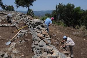 Раскопки Мальти-Дорион в 2015 г.