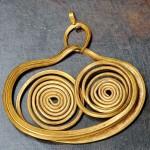 Золотые серьги из Микен