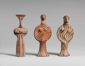 Терракотовые статуэтки женщин