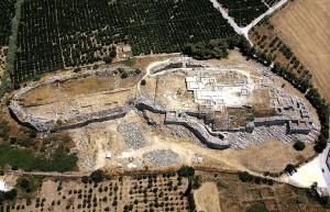 Руины мощного Тиринфа.