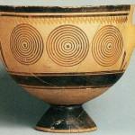Сосуд из Керамики в Афинах.
