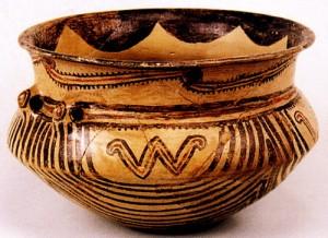 Сосуд Трипольской культуры
