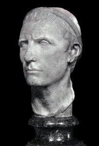 Бюст Антиоха III. Лувр, Франция. Автор Огюст Жиродон, 1902 г.