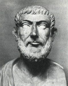 Аппий Клавдий (предположительно). Копия I в. н.э. с оригинала 300 г. до н.э. Мрамор. Хранится в Ватикане.