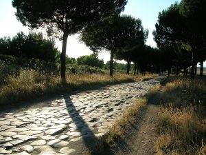 Вид на Аппиеву дорогу