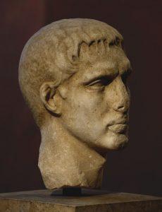 Марк Клавдий Марцелл. Мрамор. Ок. 25 гг. до н. э.