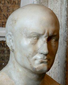 Жрец Исиды (т. н. Публий Корнелий Сципион Африканский). Мрамор. Рим, Капитолийские музеи, Новый дворец, Галерея.