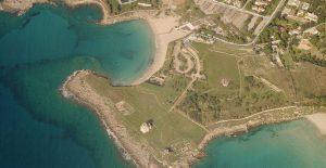 Археологический парк Сатуро, Тарент. По преданию именно тут высадились спартанцы и основали Тарент в 706 г. до н.э.