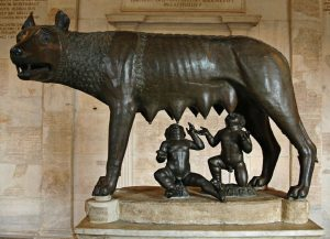 «Капитолийская волчица» (Lupa Capitolina).